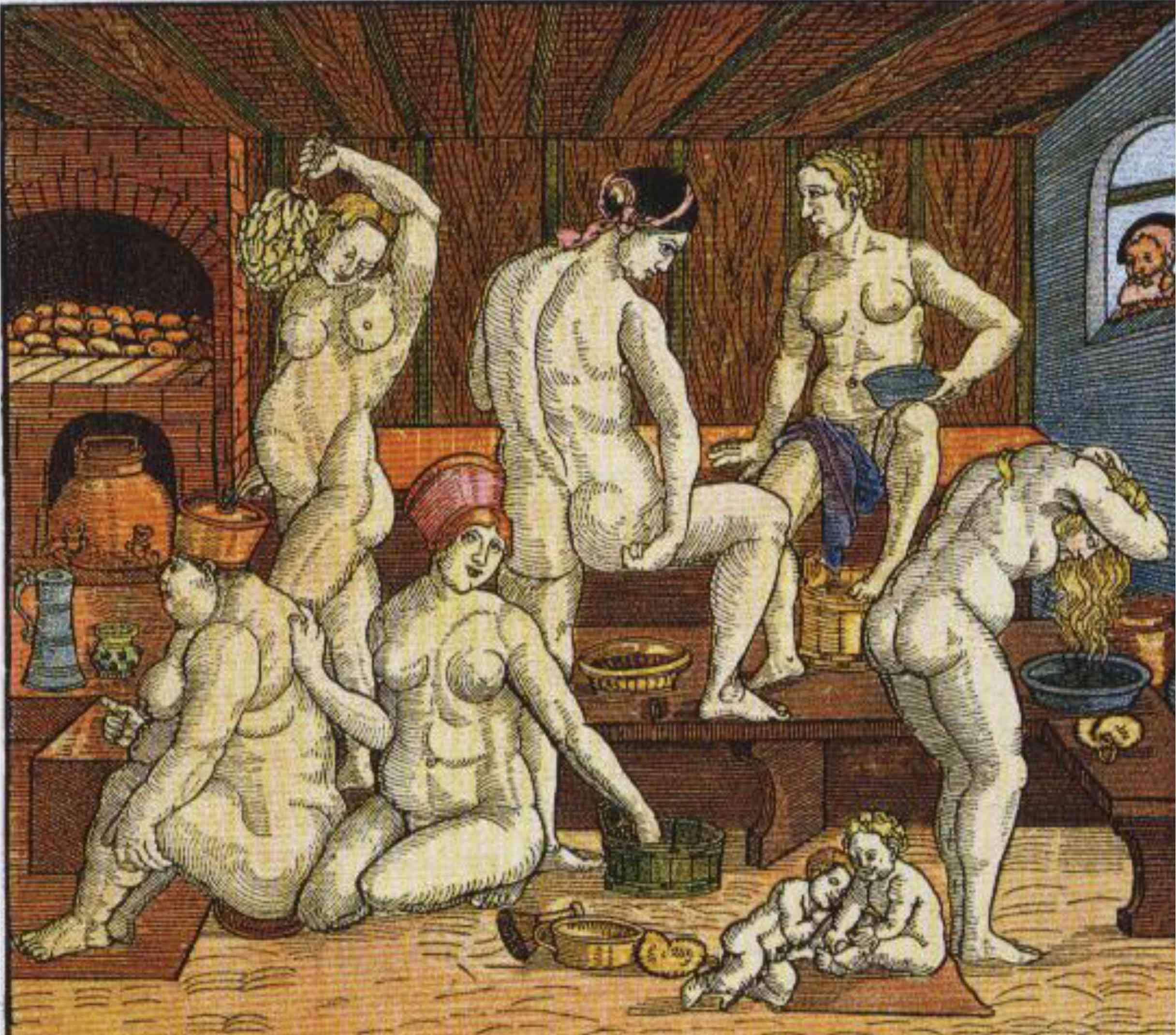 Фото в женских банях 11 фотография