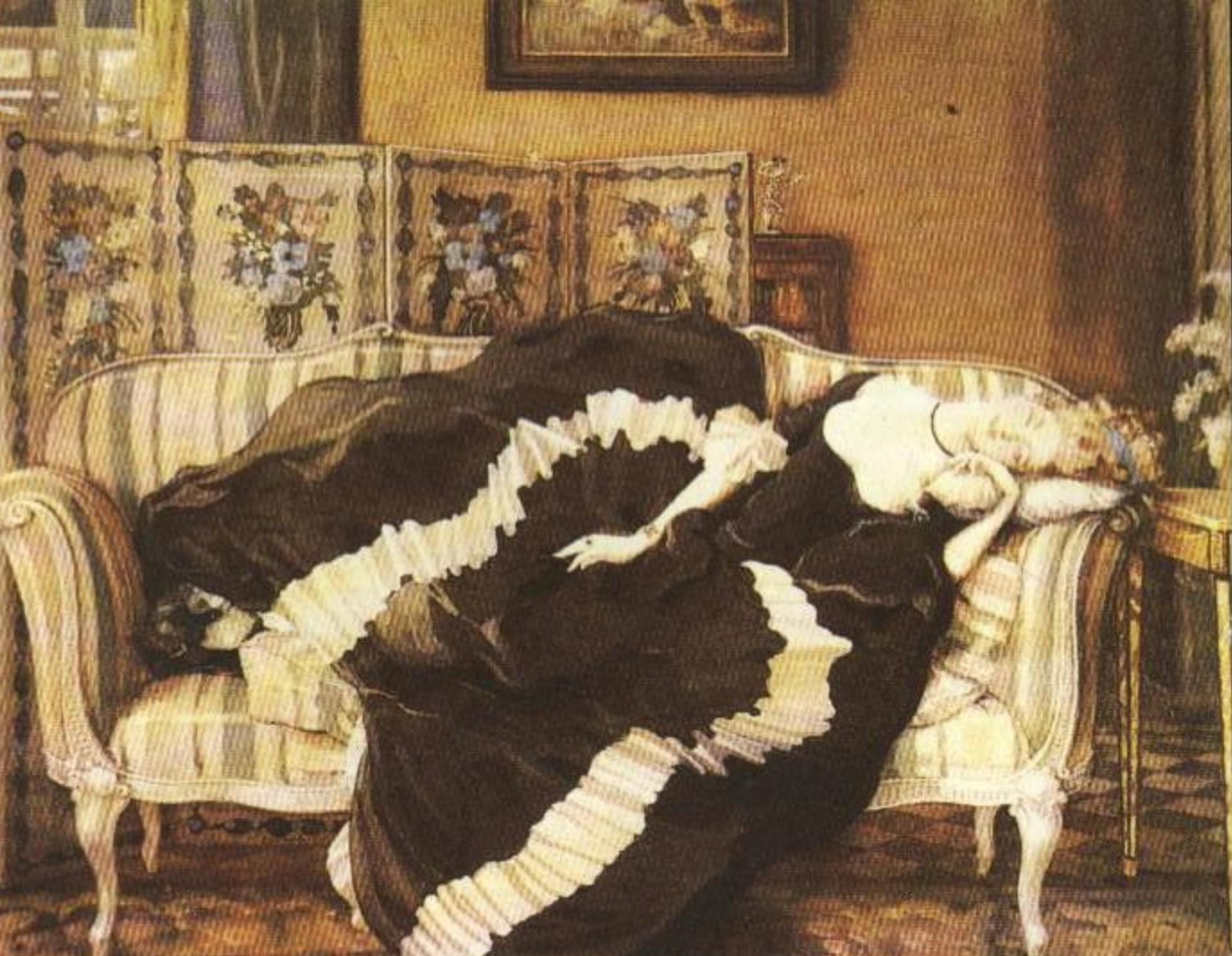 Спящая молодая девушка 9 фотография